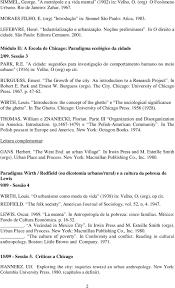 weber max conceito e categorias da cidade in velho o sessatildeo 3 park r e a cidade sugestotildees para investigaccedilatildeo do comportamento humano no