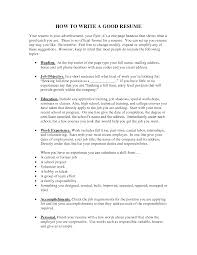 proper resume cover letter cipanewsletter how to make a resume how write cv example here is basic proper way