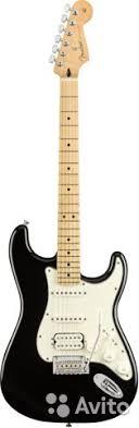 <b>Fender player</b> strat HSS MN BLK <b>электрогитара</b> купить в ...