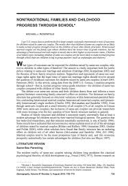 what we know blog   what does the scholarly research say about the    what we know blog   what does the scholarly research say about the wellbeing of children   gay or lesbian parents
