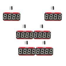 B Blesiya <b>4 Digit 7-Segment 0.56</b> LED Display Module HT16K33 I2C ...