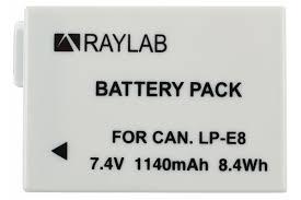 <b>Аккумулятор Raylab RL-LPE8</b> 1140мАч — купить в интернет ...