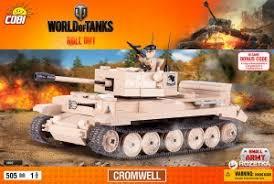 """Пластиковый <b>конструктор COBI</b> """"Танк Cromwell"""" с фигуркой ..."""