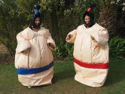 <b>Christmas Sumo Suits</b>