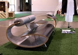 sleek and modern bark seating furniture bark furniture