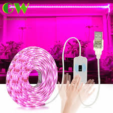 LED Grow Light Full Spectrum USB Grow Light Strip 0.5m 1m 2m ...