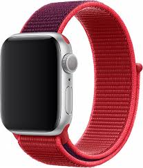 Спортивный браслет для Apple Watch 40/38 мм, (PRODUCT)<b>RED</b>