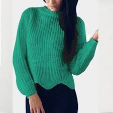 Womens <b>Knitted</b> Female <b>pull femme</b> sweater Women Sleeve ...