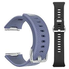 2 Pack <b>Bands</b> for Fitbit Ionic, Defoyou <b>Silicone Replacement</b> ...