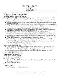 middle school math teacher resume middle school teacher resume examples