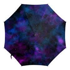 <b>Зонт</b>-<b>трость с деревянной</b> ручкой Космическая галактика ...