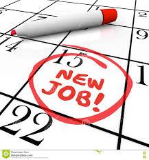 new job starting date day circled calendar stock illustration new job starting date day circled calendar