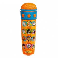 <b>Музыкальный инструмент Азбукварик Микрофон</b> Караоке я пою ...