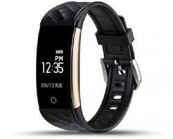 """Купить фитнес-<b>браслет ZDK S2</b>, черный, с диагональю 0.96"""" в ..."""