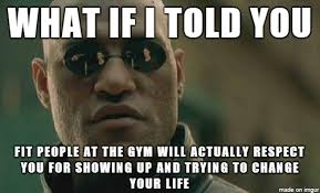 To all the overweight people out there who are too self-conscious ... via Relatably.com