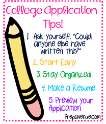application for colleges advice from act about what you need to do when you re applying to colleges