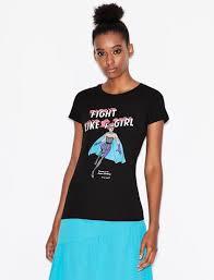 Armani Exchange <b>Women's T</b>-<b>Shirts</b> & Tank Tops | A|X Store