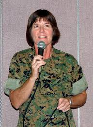 Housing hot topic for Camp Foster residents   News   StripesAdrienne Fraser Darling  the new commander of Camps Foster and Lester on Okinawa  addresses a Town Hall meeting on Camp Foster on Thursday night