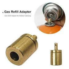 Gas Refill Adapter for <b>Outdoor Camping Hiking Stove</b> Inflate Butane ...