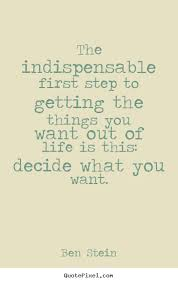 Image result for decide what you want quotes