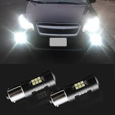 <b>2pcs</b> P21W LED <b>1156 BA15S</b> LED Bulbs Car Lights 1200Lm Turn ...