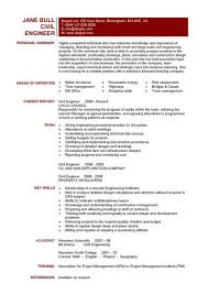 civil engineering cv template  structural engineer  highway design    civil engineering cv template