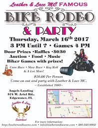 dixie riders 16th thur daytona beach fl ruff ride poker run a leather and lace mc presentation door prizes raffle 50 50 auction food live music