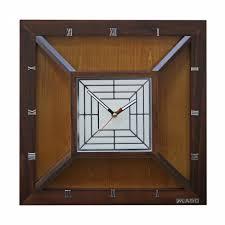 "<b>Настенные часы Mado</b> 803 BR (<b>MD</b>-<b>910</b>) ""Горная вершина"""
