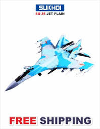 Vandana R/C Sukhoi <b>SU-35</b> Jet Fighter Birthday Gift for <b>Kids</b> Baby ...