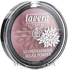 Lavera <b>So</b> Fresh Mineral Rouge Powder - <b>Минеральные румяна</b> ...