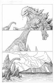 Godzilla by Daniel Nash | Geektastic | <b>Godzilla</b>, <b>Movie posters</b>, <b>Art</b>