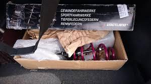 <b>Комплект спортивной подвески</b> Vogtland Volkswagen T6, T5 ...