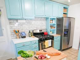 cool repainting kitchen cabinets ideas for easy kitchen remodeling way chatodining blue cabinet kitchen lighting