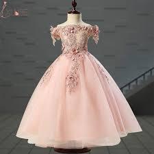 <b>Lovely Flower Girl</b> Dresses Tulle <b>2019</b> Beading Appliqued Pageant ...