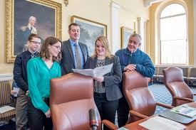 internships political science university of maine student interns at maine state house