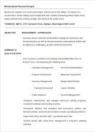 military resume templates credit analyst example sample provided military resume example