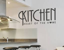 Small Picture Kitchen Heart Of The Home Wall Sticker Contemporary Wall Stickers