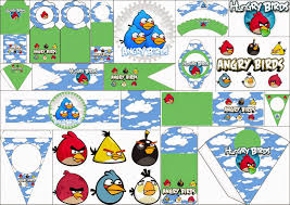 angry birds clouds party printables oh my fiesta angry birds clouds party printables