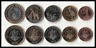 South Sudan 5 Pieces Set Coins Africa <b>New</b> Original Coin Unc ...