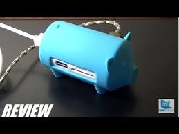 REVIEW: <b>ORICO Pig</b> USB 3.0 Hub + Card Reader - YouTube