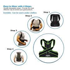 Back Posture <b>Back Correction Belt</b>, Back Support, Back Orthopedic ...