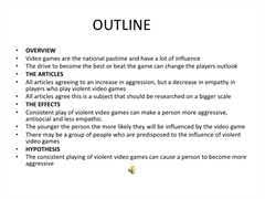 argumentative essay on video games and violenceessay on video game violence
