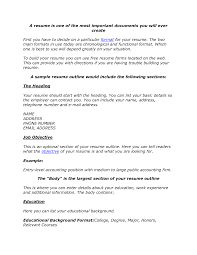 doc cv resume format basic resume template resume example resume outline worksheet templates build a resume