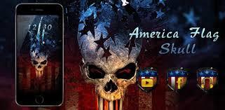 <b>Vintage</b> America Flag <b>Skull</b> Theme - Apps on Google Play