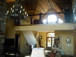 Story Open Mountain House Floor Plan   Asheville Mountain Houseasheville mountain lake house two story living room