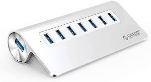 ORICO Aluminum 7 Port Super Speed USB3.0 Hub ... - Amazon.com