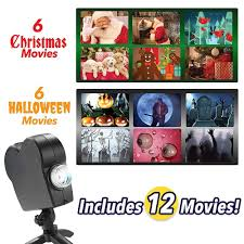 <b>Christmas Halloween Laser</b> Projector disco light 12 Movies Mini ...
