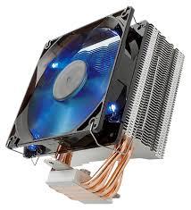 <b>Кулер</b> для процессора <b>Reeven E12</b> Blue LED — купить по ...