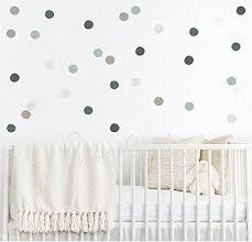 Polka dot cling, Modern Nursery Wall Decal, Nursery ... - Amazon.com