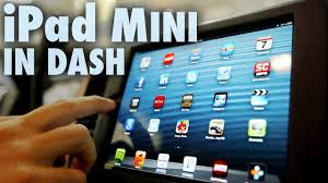 Apple iPad Mini Installed in Car Dash (Fit & Finish) - Part 2 - YouTube